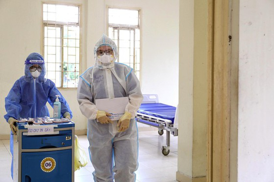 HCMC: Rushing establishment of field hospitals ảnh 4