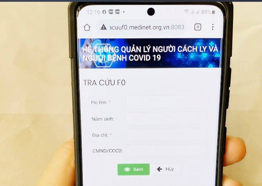 HCMC launches web portal of personal health records of Covid-19 patients ảnh 1