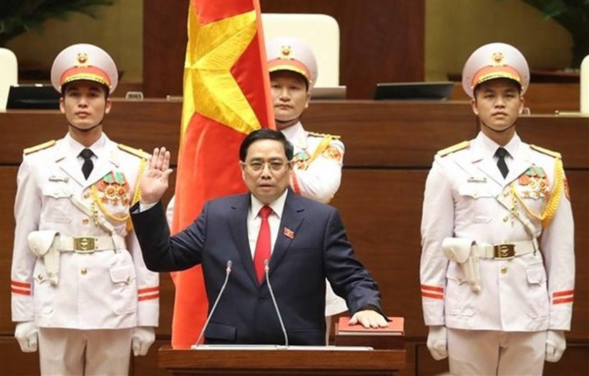 Pham Minh Chinh re-elected as Prime Minister for 2021-2026 ảnh 1
