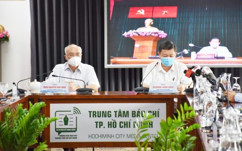 HCMC holds Covid-19 press conference to address current social issues ảnh 2