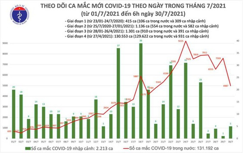 Vietnam has 29,006 recovered patients with Covid-19 as of July 30 morning ảnh 2