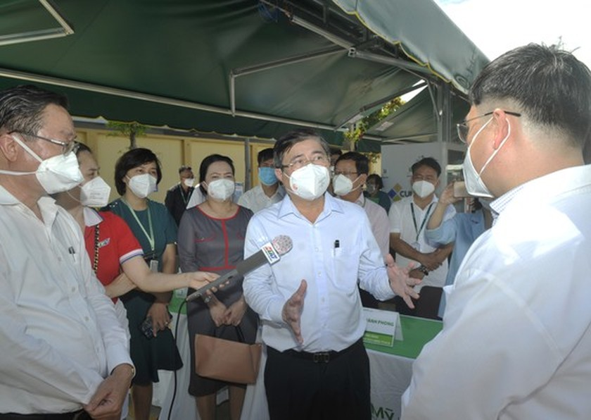 Hoan My Covid-19 Treatment Hospital comes into operation in HCMC ảnh 2