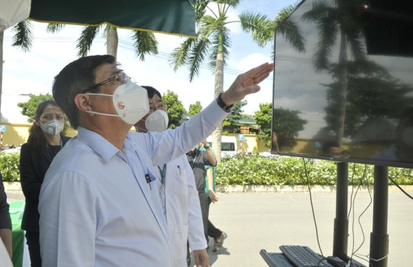 Hoan My Covid-19 Treatment Hospital comes into operation in HCMC ảnh 3