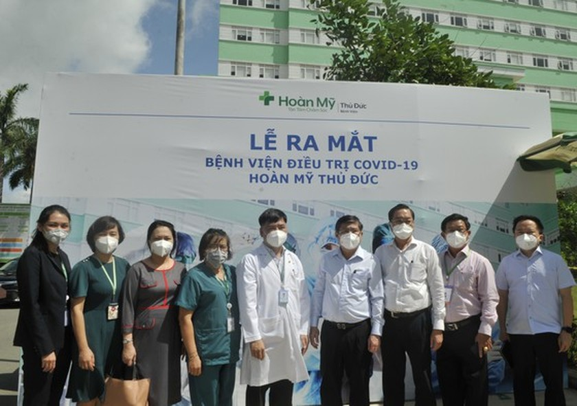 Hoan My Covid-19 Treatment Hospital comes into operation in HCMC ảnh 1