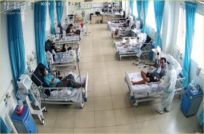 Hoan My Covid-19 Treatment Hospital comes into operation in HCMC ảnh 4