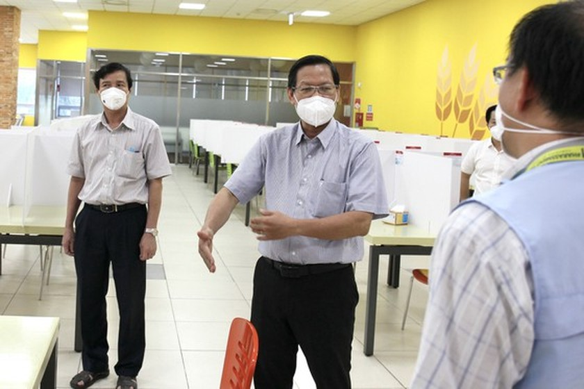 Thu Duc City has to maintain safe work environment in high-tech Park ảnh 5