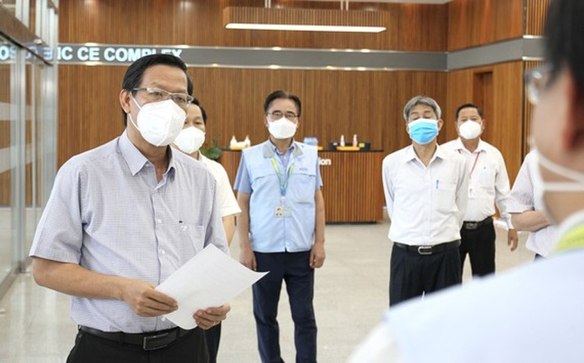 Thu Duc City has to maintain safe work environment in high-tech Park ảnh 1