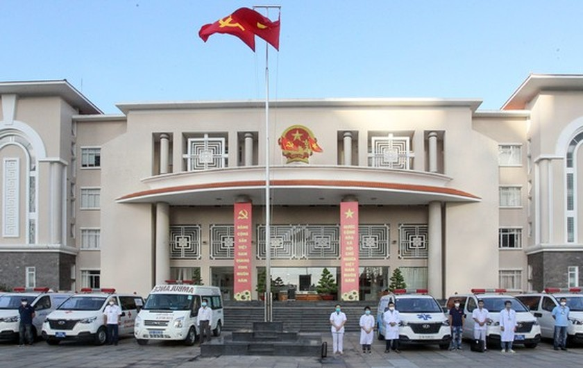 Thu Duc City launches ambulance service for Covid-19 patients ảnh 2