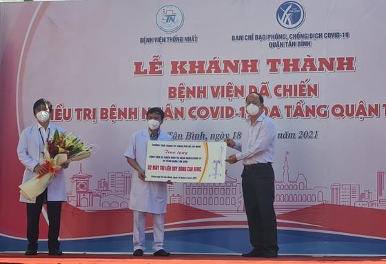 More Covid-19 treatment field hospital comes into operation in Tan Binh District ảnh 1