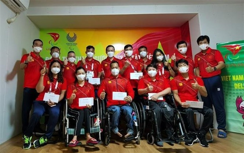 Vietnamese athletes ready for competition at Tokyo 2020 Paralympics ảnh 1