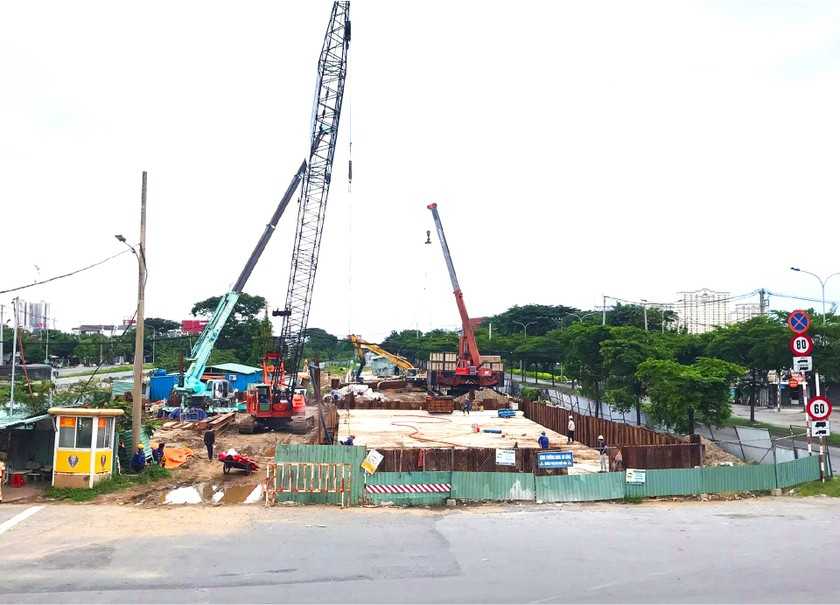 HCMC's major projects under rush construction amid complicated Covid-19 ảnh 6