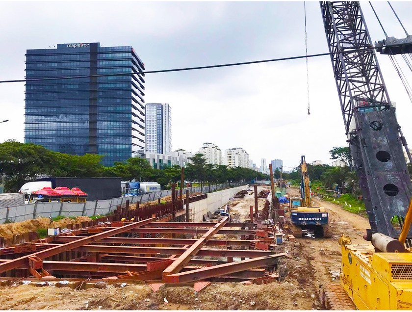 HCMC's major projects under rush construction amid complicated Covid-19 ảnh 7