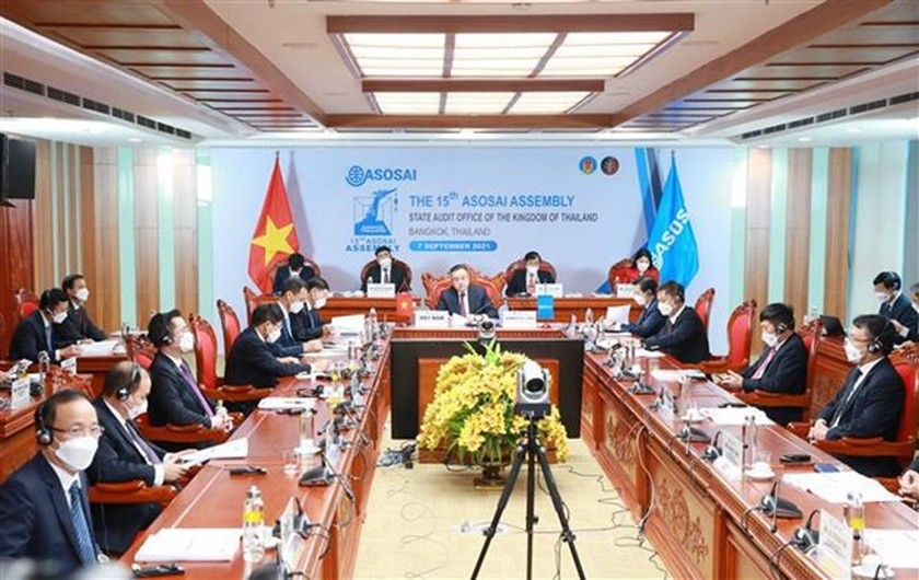 Vietnam chairs opening ceremony of 15th ASOSAI Assembly ảnh 1