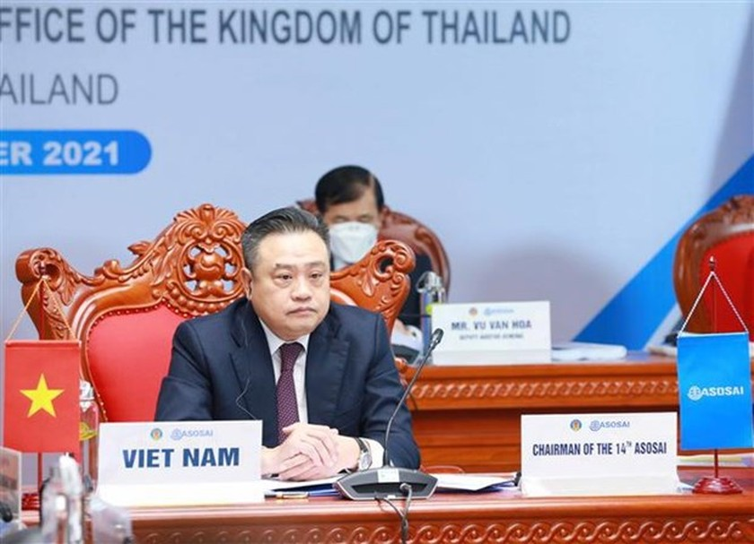 Vietnam chairs opening ceremony of 15th ASOSAI Assembly ảnh 2
