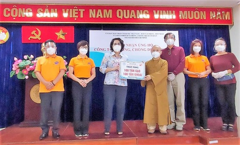 HCMC receives Covid-19 food, essential goods, medicine support ảnh 1