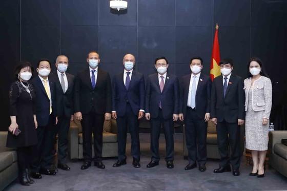 NA Chairman meets Finnish Prime Minister ảnh 3