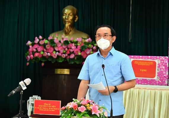 HCMC ensures economic development, pandemic prevention: City Party Chief ảnh 1