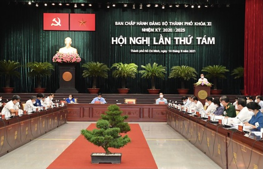 HCMC Party Executive Committee's session issues pandemic-related decisions ảnh 1