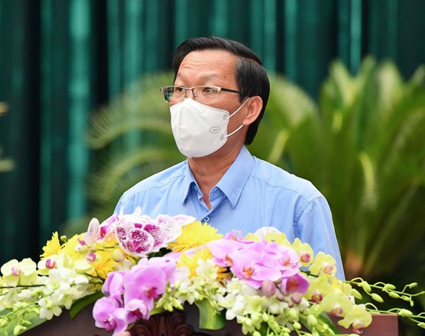 HCMC Party Executive Committee's session issues pandemic-related decisions ảnh 5