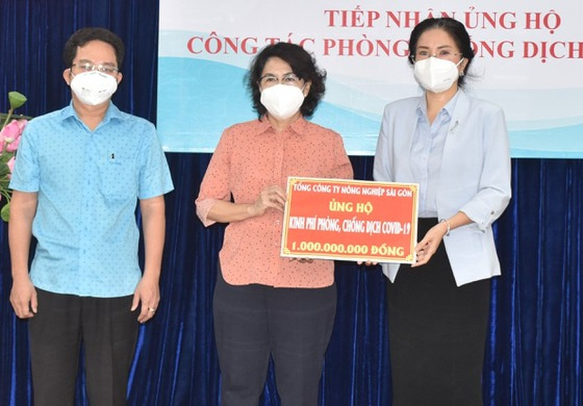 State agency, businesses extend support to HCMC in its fight against Covid-19 ảnh 2