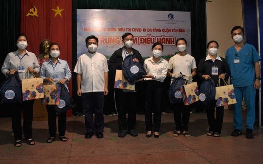 More religious volunteers join hands to help HCMC to fight pandemic ảnh 1