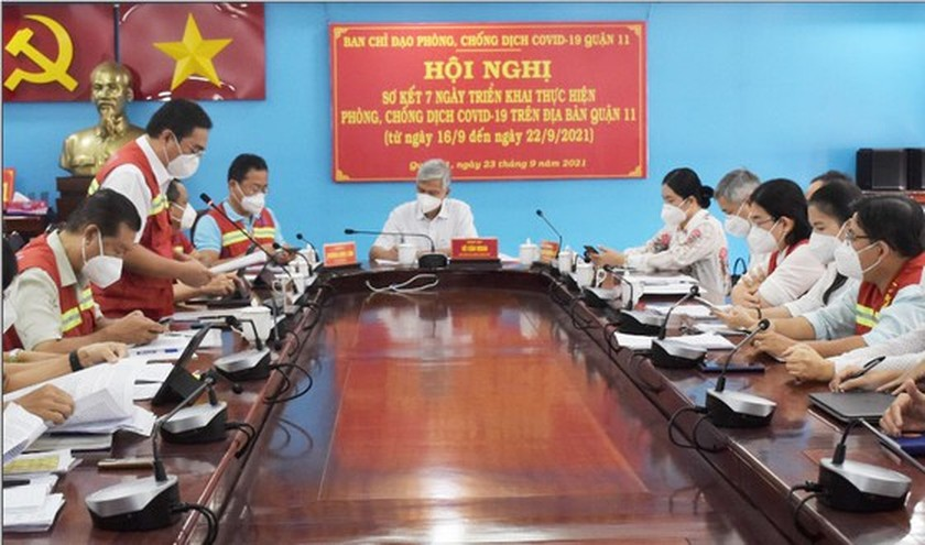 HCMC: Covid-19 pandemic basically under control in Thu Duc City, districts ảnh 12