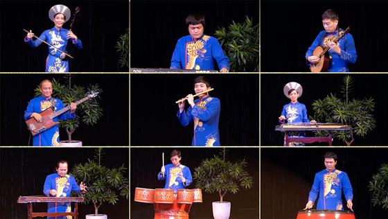 HCMC's art program honors great national unity amid pandemic ảnh 10
