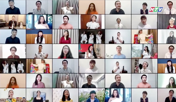 HCMC's art program honors great national unity amid pandemic ảnh 2