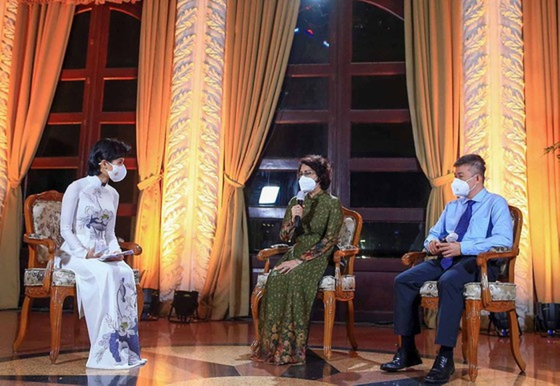 HCMC's art program honors great national unity amid pandemic ảnh 3