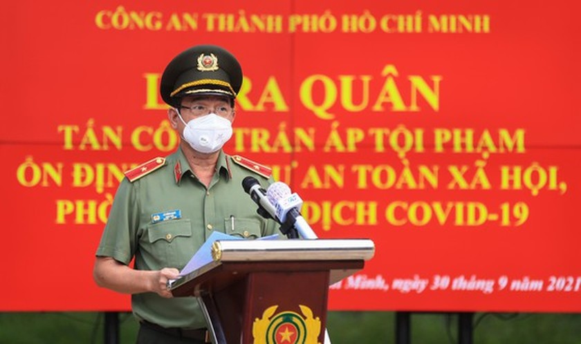 HCMC police launch campaign against criminals after restriction ease ảnh 2