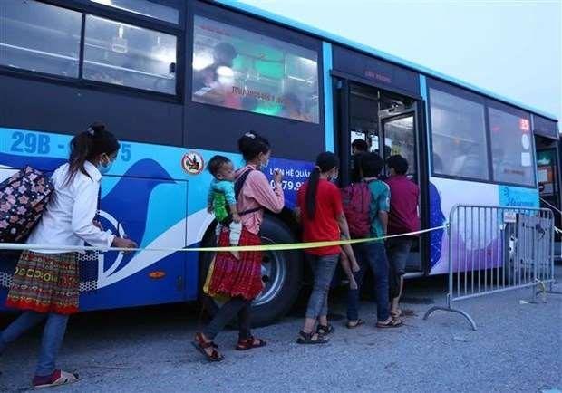 Pilot road passenger transport recovery scheme to start from October 13 ảnh 1