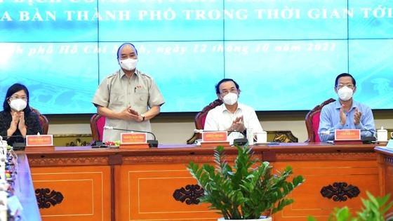 HCMC should go towards reorganization, economic creativity: State President ảnh 2