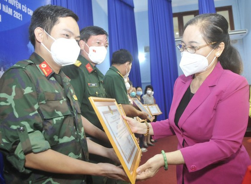 """Cu Chi needs to retain, protect """"green employees"""" for economic recovery ảnh 4"""